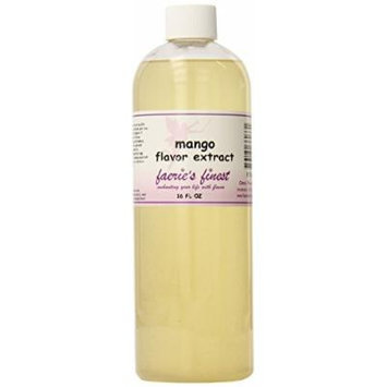 Faeries Finest Flavor Extract, Mango, 17.19 Ounce
