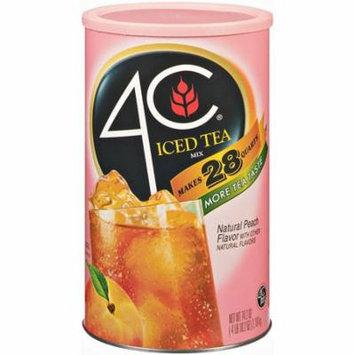 4C Iced Tea Mix - Peach - 28qt.