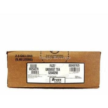 Fuze UNSWEET Tea Syrup 2.5 Gallon Bag in Box BIB