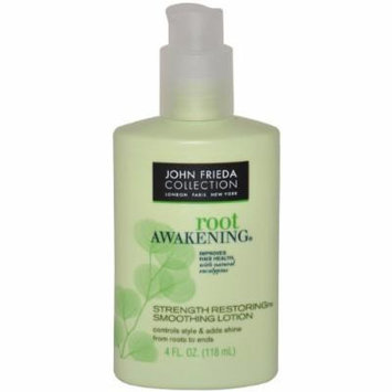 John Frieda Root Awakening Strength Restoring Smoothing Lotion, 4 Ounce (Pack of 4)