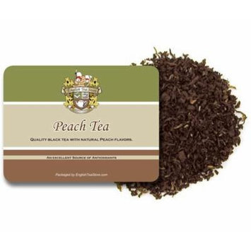 Peach Flavored Black Tea - 16oz