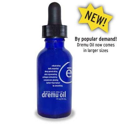 Dremu Oil Serum 2 oz. The Only Triple Refined Emu Oil - Beware of Imitations (2 Oz)
