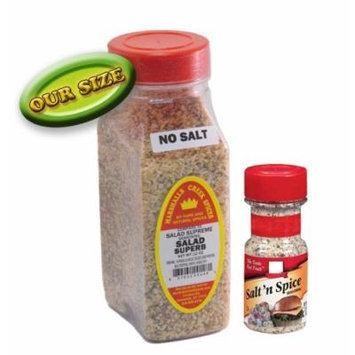 Marshalls Creek Spices Salad Superb Seasoning, No Salt, 12 Ounce