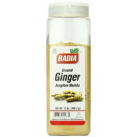 Badia Ginger Ground, 12 Ounce (Pack of 6)