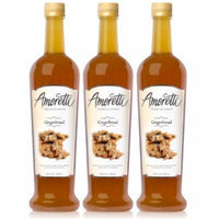 Amoretti Premium Gingerbread Syrup 750ml 3 Pack