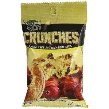 Oskri Crunch Snack, Cashew, 1.7 Ounce (Pack of 10)