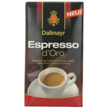 Dallmayr Ground Coffee, Expresso D'oro, 8.8 Ounce