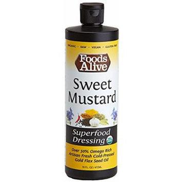 Superfood Dressing, Sweet Mustard, Organic, 16oz