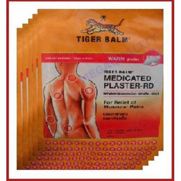 Tiger Balm Patch Plaster Warm Medicated Pain Relief 10pcs.