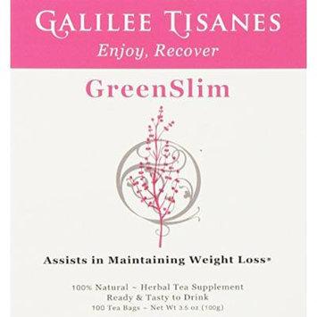 Galilee Tisanes GreenSlim, 100 Tea Bags