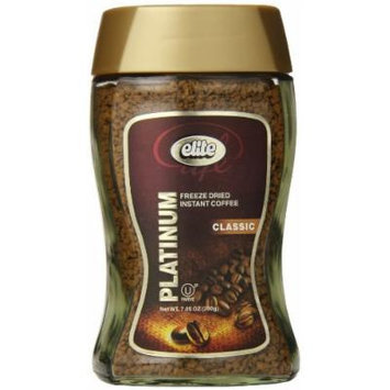 Elite Instant Coffee, Freeze-Dried, 7.05 Ounce
