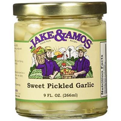 Sweet Pickled Garlic 2 Jars / Jake and Amos
