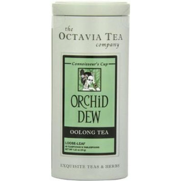 Octavia Tea Orchid Dew (Oolong Tea), 1.23-Ounce Tin