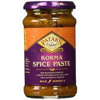 Patak's Korma Curry Paste, Coconut & Coriander (Mild), 10 oz, (Pack of 2)