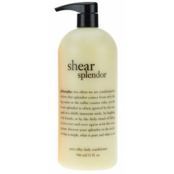 Philosophy Shear Splendor Extra Silky Daily Conditioner (32 fl. oz.)