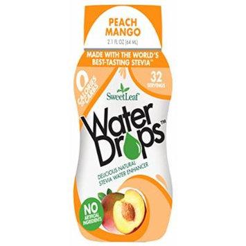 SweetLeaf Water Drops, Peach Mango, 2.1 Ounce