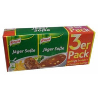 Jager Sauce, Hunter Sauce (Knorr) 3 pk (3 x 1/4 Liter)