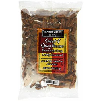 Trader Joe's Sweet and Spicy Pecans, 5 Ounce Bag (Pack of 3)