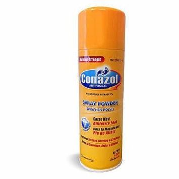 Maximum Strength Conazol Antifungal Spray Powder (NET Wt 4.6oz)