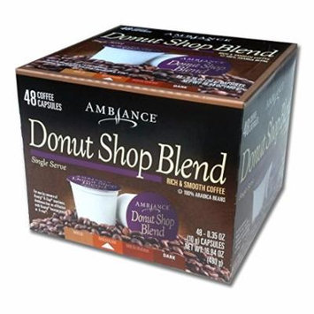 48 Ambiance K-Cup DONUT SHOP Keurig Capsules - 100% Arabica beans