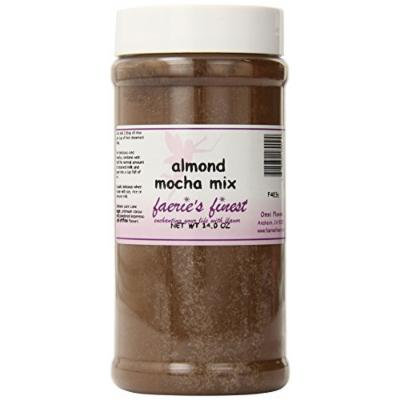 Faeries Finest Mocha Mix, Almond, 14 Ounce