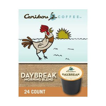 Caribou Coffee Daybreak Morning Blend(2 boxes of 24 K-Cups)