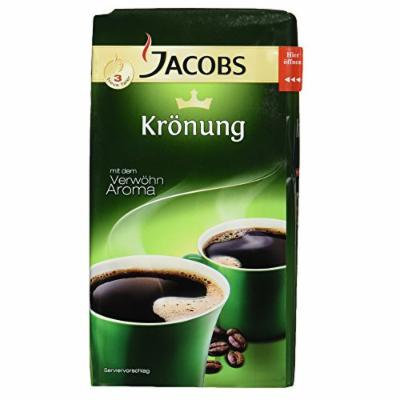 Jacobs Kronung Ground Coffee, 17.6-Ounce Vacuum Pack