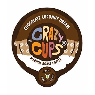 Crazy Cups Chocolate Coconut Dream Flavored Coffee Single Serve Cups (88 Count)