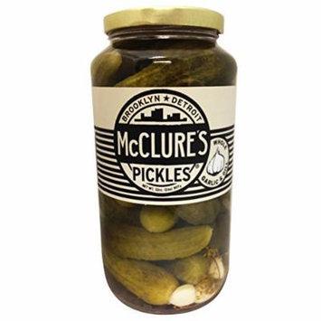 McClure's Garlic Dill Pickles Whole 32oz