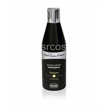 Hair-Repair Shampoo for Dry Hair/Black Caviar 400ml/13.6oz DSM Black Caviar Collection