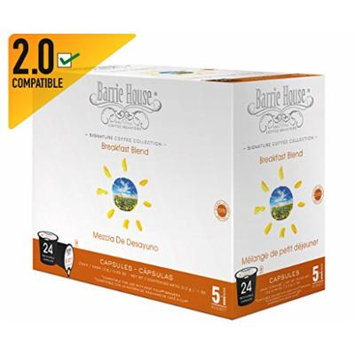 Barrie House Breakfast Blend Single Cup Capsule, 24 Capsules