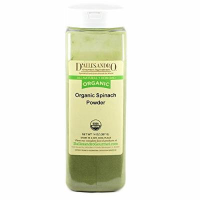 Organic Spinach Powder, 14 Oz
