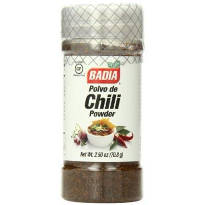 Badia Chili Powder, 2.5 Ounce (Pack of 12)