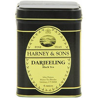 Harney & Sons Darjeeling Loose Leaf Tea, 4 Ounce Tin - Pack of 6