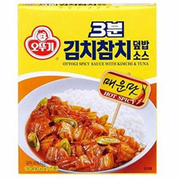 [KFM] Korean Food Ottogi Spicy Sauce With Kimchi & Tuna150g 김치참치 덮밥 소스
