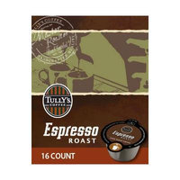 Tully's Coffee, Espresso Roast Vue Pack for Keurig Vue Brewers, 16 Count (2 Pack)