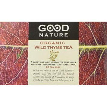 Good Nature Organic Wild Thyme Tea, 1.07 Ounce