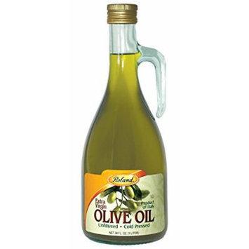 Roland: Unfiltered Extra Virgin Olive Oil 34 Oz (6 Pack)