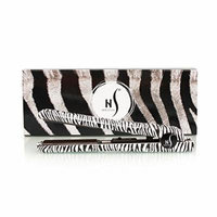Herstyler Animal Print 1.5 inches Ceramic Flat Iron with Free Ionix Shampoo and Conditioner (Classic Zebra)