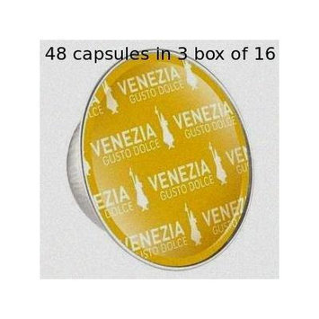 Bialetti: 48 Coffee Capsules Venezia * BOX OF 3 for 16 Capsules * [ Italian Import ]