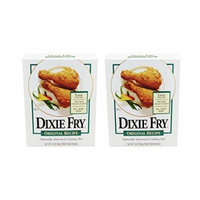 Dixie Fry Original Recipe Naturally Seasoned Coating Mix (Pack of 2 Boxes 10 Oz Each)
