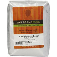 Wolfgang Puck Coffee Chef's Reserve Decaf Whole Bean Bulk Coffee, 2-Pounds