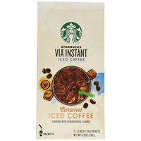 Starbucks Via Ready Brew Iced Caramel Flavored Coffee 5 Pk