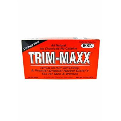 Trim-Maxx Orange Peel Herbal Dietary Supplement All Natural No Chemicals No Caffeine 30 Tea Bags