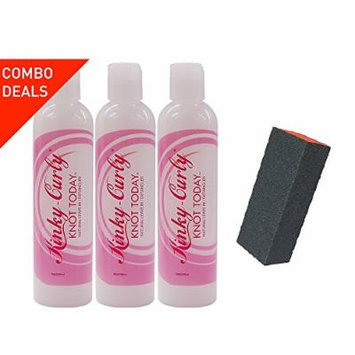 Kinky Curly KNOT-TODAY 8oz (pack of 3) Big Sale!!!