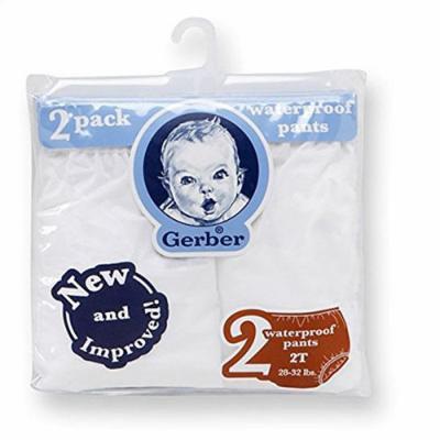 Gerber Waterproof Baby Pants, 2 Pk, Vinyl (18 mo/24-28 lbs)