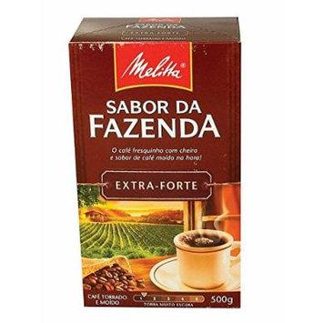 Melitta Brazilian Coffee Sabor Da Fazenda Extraforte Vacuum Packed 500g