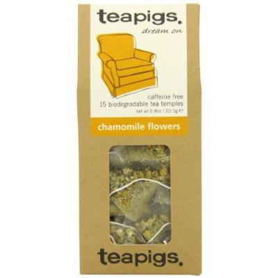 Teapigs Chamomile Flowers Tea - Made of Whole Leaf Only - 15 Teabags (Pack of 2)
