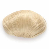 OneDor® Synthetic Big Hair Bun Ponytail Extension Chignon Hair Piece Wig (613# Pre Bleach Blonde)