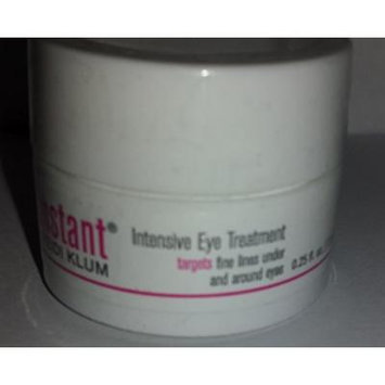 HEIDI KLUM In an Insant Intensive EYE Treatment 0.25 oz / 7.5mL BRAND NEW FACTORY SEALED..VERY HARD TO FIND!!!